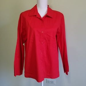 Eileen fisher cotton blouse